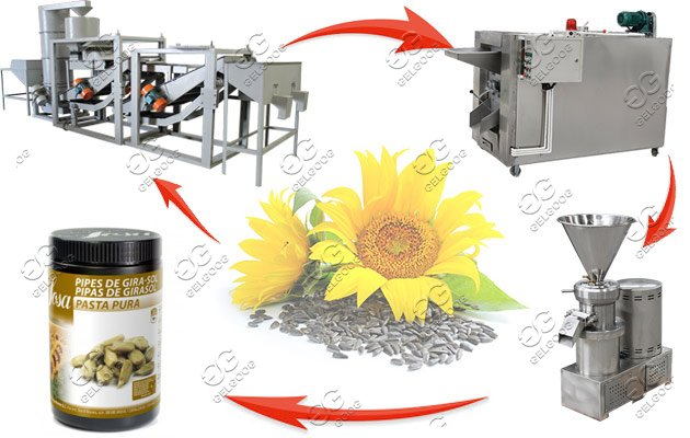 sunflower seeds roasting equipment