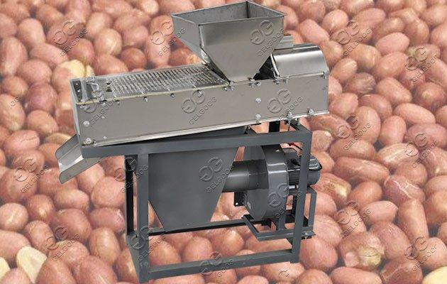 peanut making line