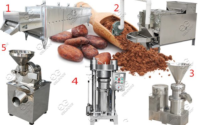 cocoa peeling machine