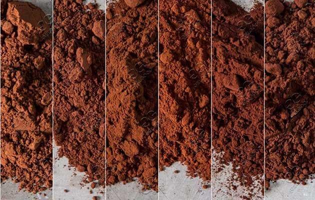 cocoa powder grinder machine