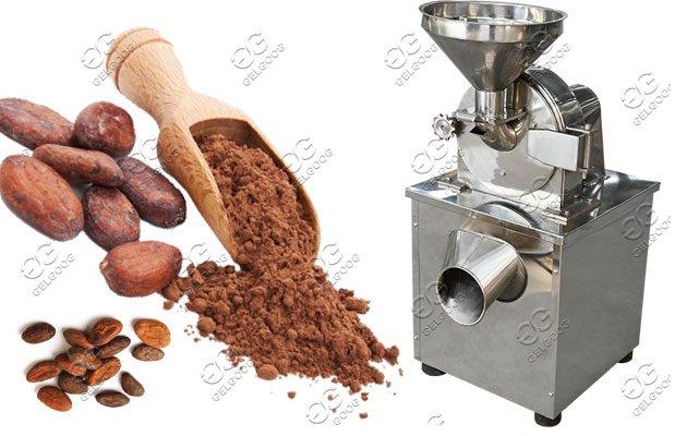 cocoa powdering machine