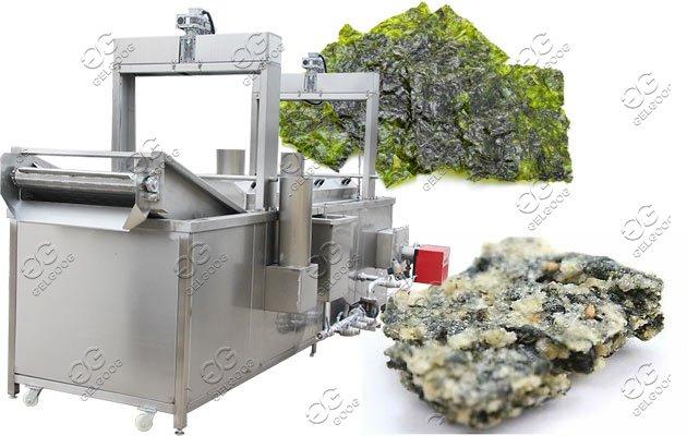 seaweed fryer machine