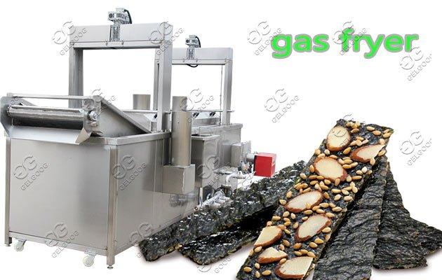 seaweed deep fryer machine