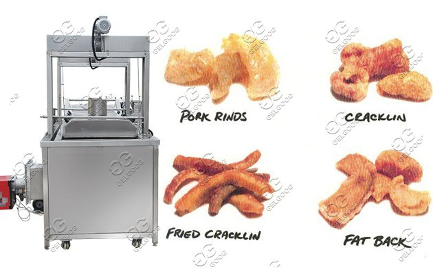 industrial chicharron fryer machine