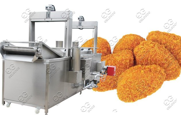 nuggets frying machine price