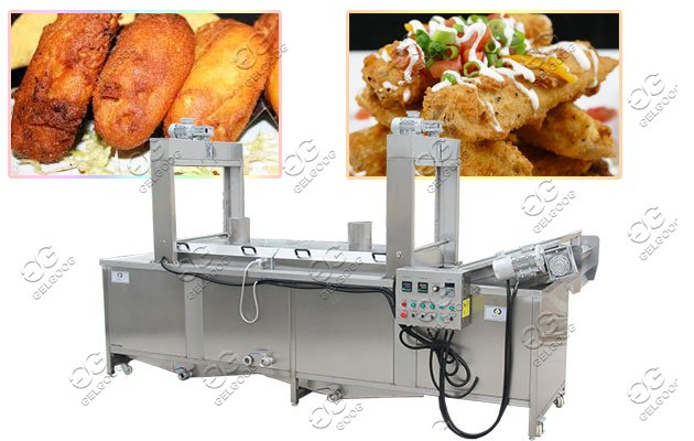 tamales automatic frying machine