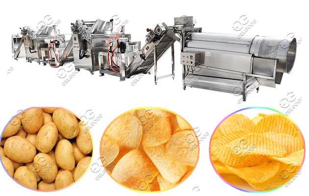 sweet potato cassava chips machine