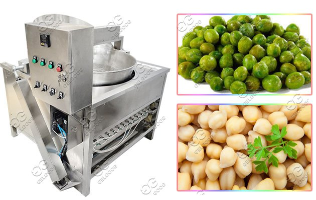 automatic chickpeas frying line