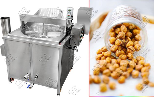 chickpea snacks flavouring machine