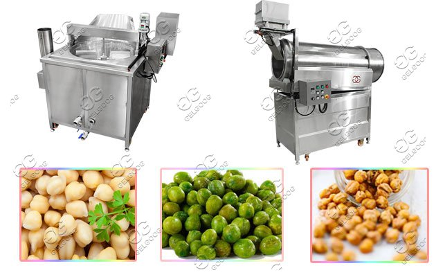 chickpea frying machine