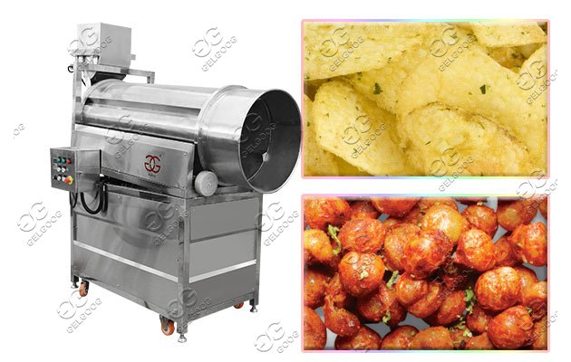 potato plantain chips flavoring machine