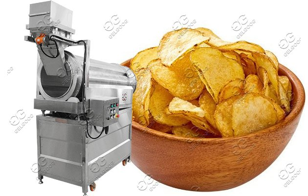 industrial chips seasoning machine