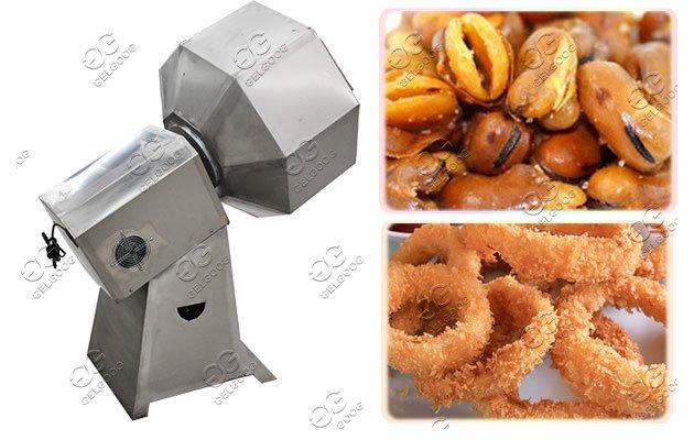 snack chips flavoring machine