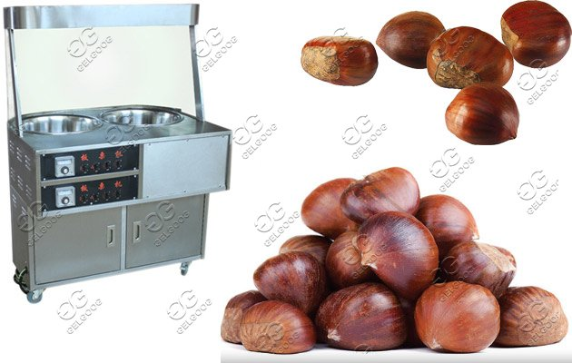 chestnut frying machine