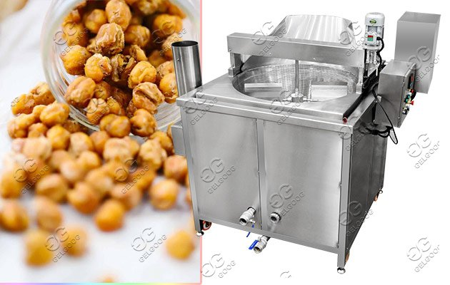 fryer bean with seasoning machine