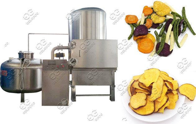 chips snack vacuum frying