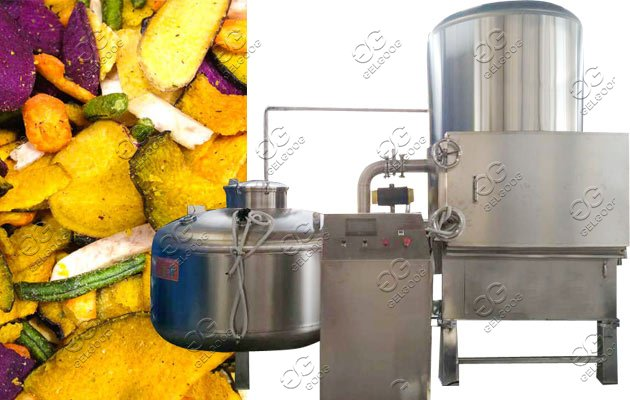 vacuum peanut fryer machine