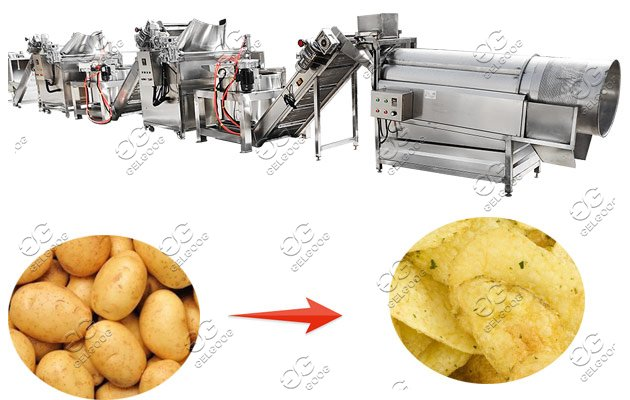 autato potato chips line for sale