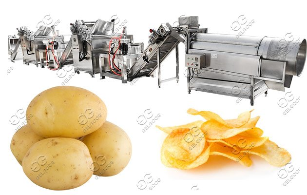 potato flakes manufacturing plant
