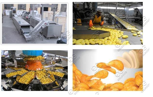 potato chips machines