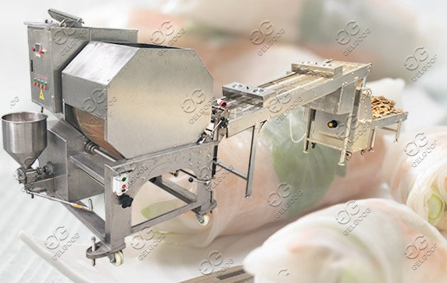 spring roll pastry sheet making machine