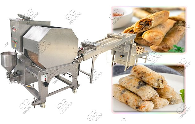 spring roll sheet making machine