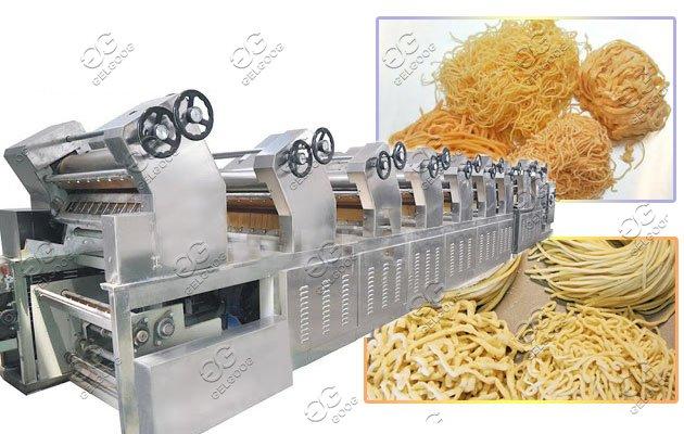 manual noodles production line