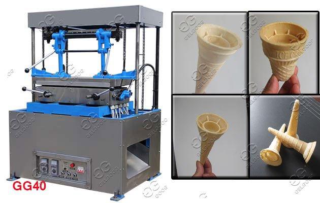 ice cream cone wafer machine