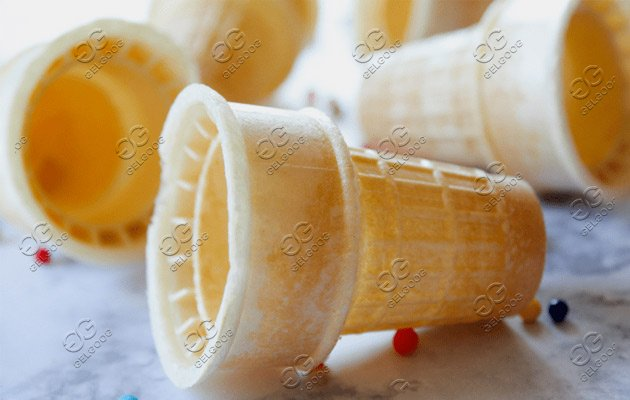 cone ice cream cup making machine