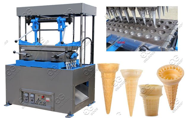 ice cream wafer cones making machine