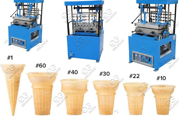 wafer cones machine