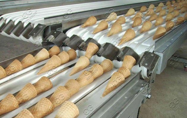 ice cream sugar cones maker machine