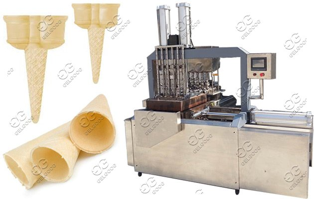 automatic ice cream cones machine