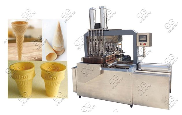 ice wafer cones machine