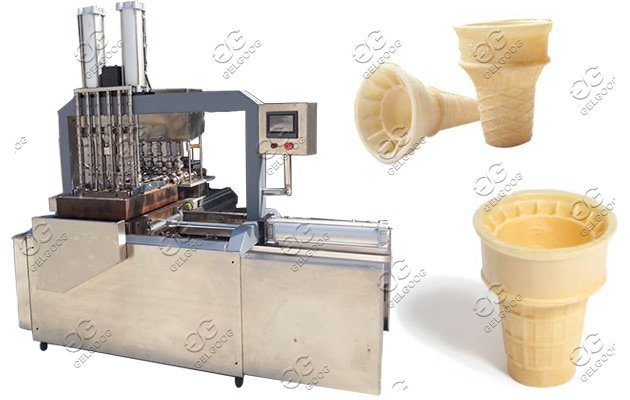 wafer cones making machine