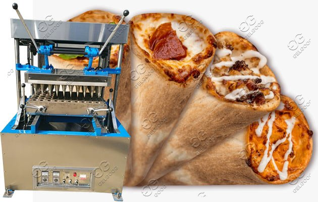commercial pizza cones machine