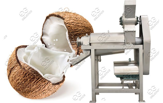 coconut milk press machine