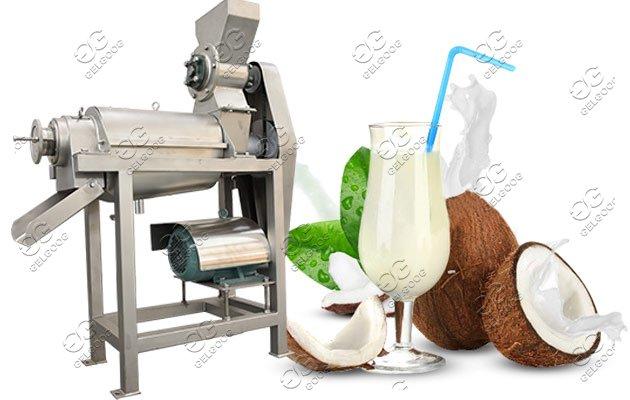 coconut processing machine