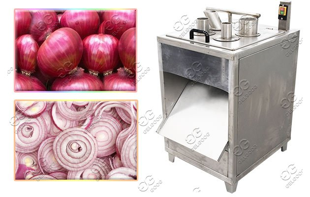 onion rings processing machine