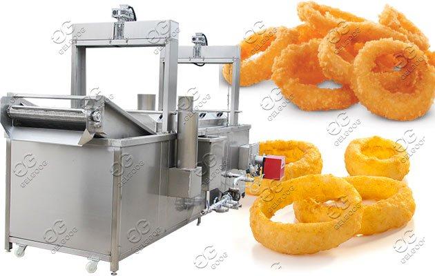 crispy fried onion machine