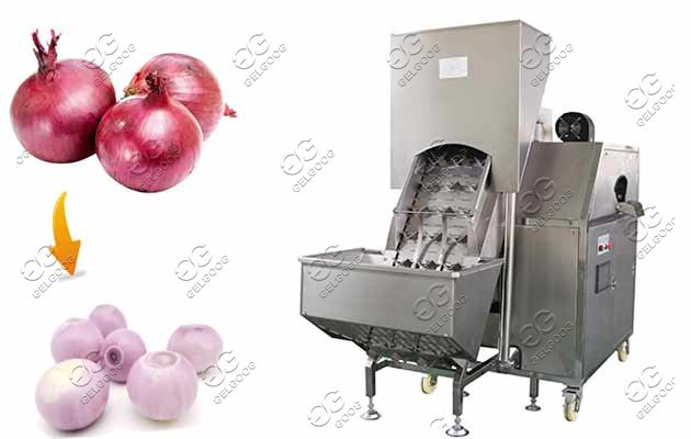 Onion Skin Remover Machine