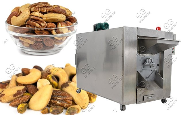 salted nuts roasting machine