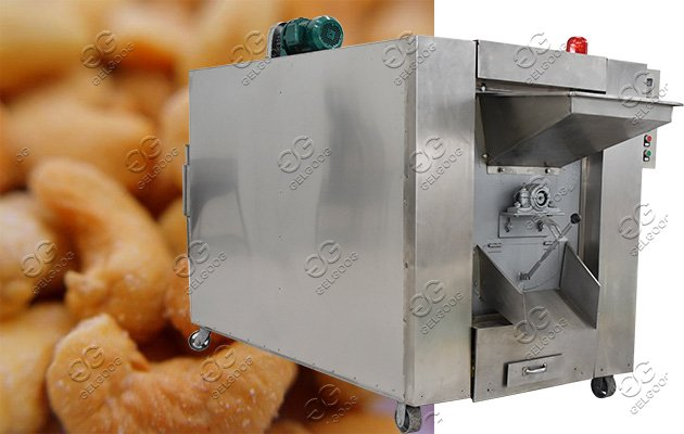 nuts salting roasting machine