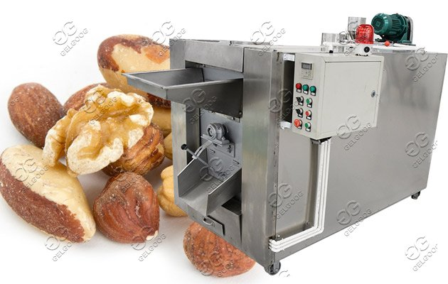 sated nuts drying machine