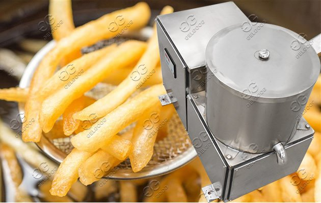 potato chip oil removing machine