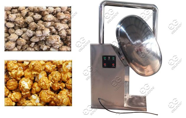 coated peanuts machine
