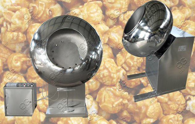 flour coated peanuts machine