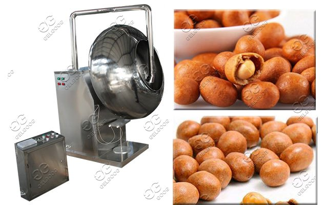 peanut sugar coating machine