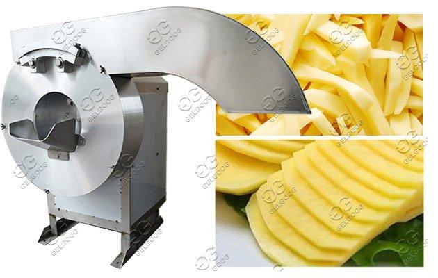 potato fry cutting machine
