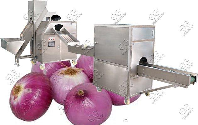 onion peeling machine price